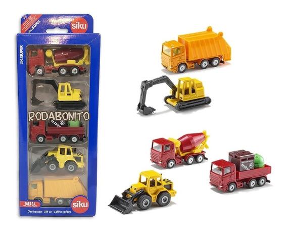 Camiones X5 Tractor Excavadora Basura Metal 1/86 Siku 6283