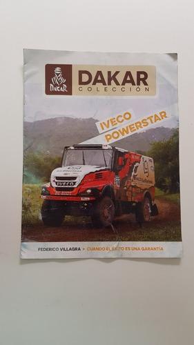 Libro Colección Dakar Iveco Powerstar 2016