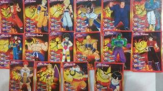 16 Cards Dragon Ball Z Cai Frete R$10,00 Sem Repetições
