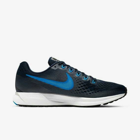 Zapatillas Nike Pegasus 34 Hombre Negro Running C/ Envio