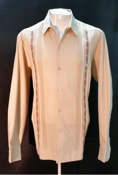 Guayabera De Lino-algodón Marca Koh 304