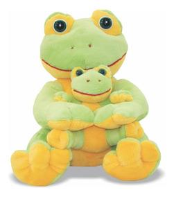 Pelúcia Sapa Com Filhote - Sapa E Filhote - Soft Toys