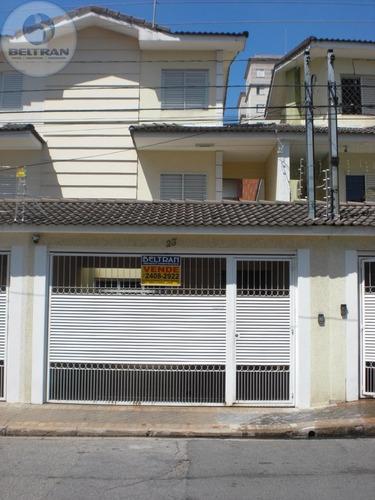 Sobrado A Venda No Bairro São Jorge Em Guarulhos - Sp.  - 509-1