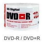 Dvd Virgen Printeables Sg Digital 4.7 Gb 16x Paquetes De 50