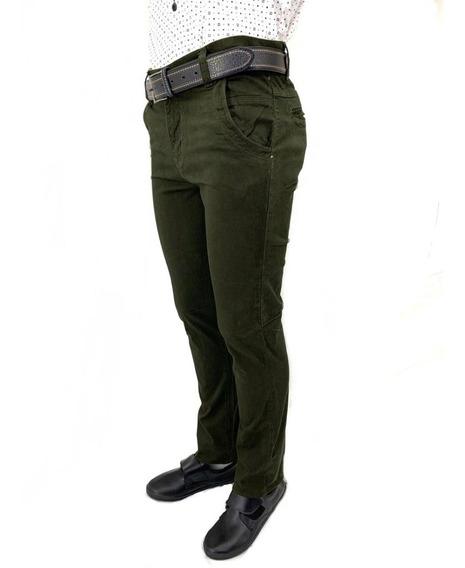 Pantalón Casual Vestir Skinny De Hombre Colores Nuevo