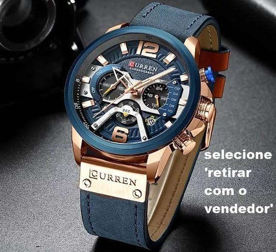 Relógios Masculinos Curren Original Promoção Frete Gratis