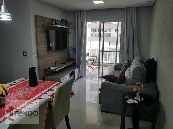 Apartamento 80 M² - 3 Dormitórios - 1 Suíte - Vila Vivaldi - São Bernardo Do Campo/sp - Ap0890