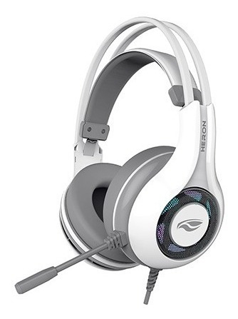 Headset Gamer C3 Tech Branco C/ Microfone Usb Heron 2