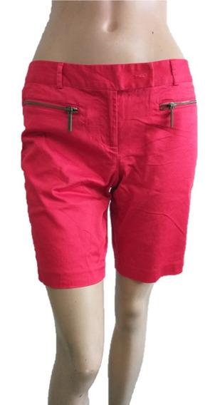 Short Largo Rojo Michael K Talla 4