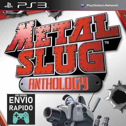 Metal Slug Collection Inclui 7 Jogos - Jogos Ps3 Original