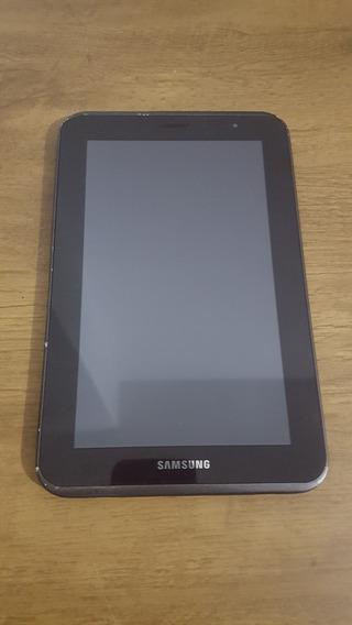 Display Samsung Tab 2 Gt-p3100 Com Detalhes De Uso.
