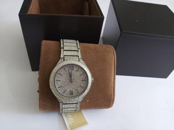 Relógio Michael Kors Mk3359 (feminino) Kerry Crystal Pavé Nf