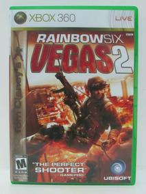 Rainbow Six Vegas 2 - Game Xbox 360 Original Mídia Física