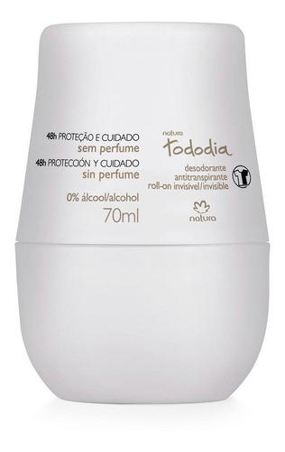 Desodorante Antitraspirante Rollon Sin Perfume Natura Tododi