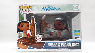 Funko Pop Moana & Pua On Boat 62- Disney- Limited Edition