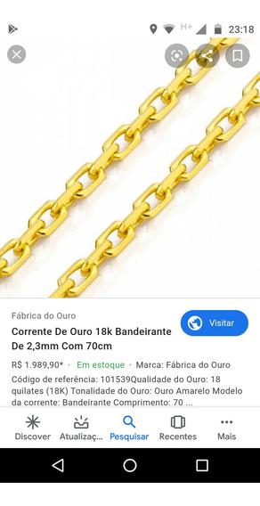Corrente De Ouro Cartier