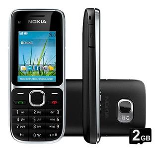 Nokia C2-01 3g, 3.2mp, Bluetooth, Radio Fm, Mp3 - Novo