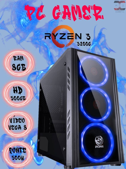 Pc Gamer Ryzen 3 3200g / Rx Radeon Vega 8