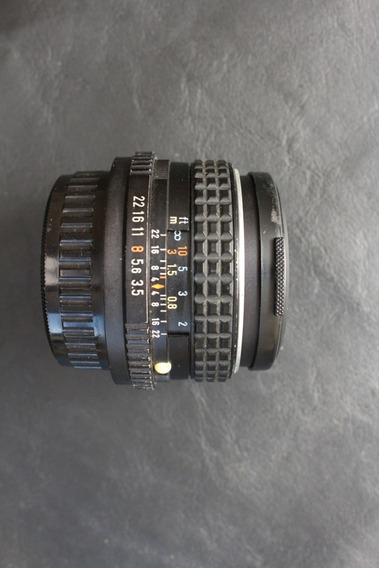 Lente Pentax 28mm - F3,5 - Original Japan