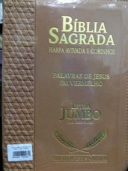 Biblia Jumbo C/harpa E Corinhos Estrela Davi C/indice