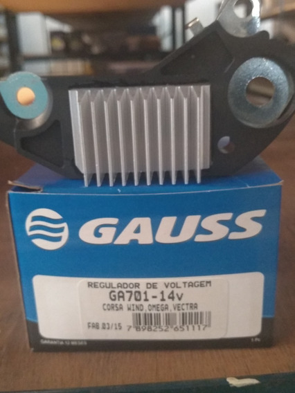 Regulador Voltagem 14v Gm Vectra/corsa/omega/frontera/astra