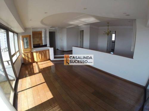 Imagem 1 de 11 de Apartamento Com 3 Dormitórios À Venda, 200 M² Por R$ 1.150.000,00 - Mooca (zona Leste) - São Paulo/sp - Ap4967