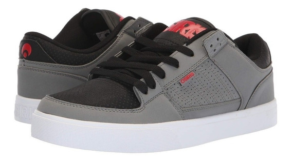 Zapatillas Osiris Protocol Black Grey Red