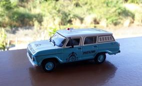 Miniatura Chevrolet Veraneio Patamo Polícia Rio De Janeiro