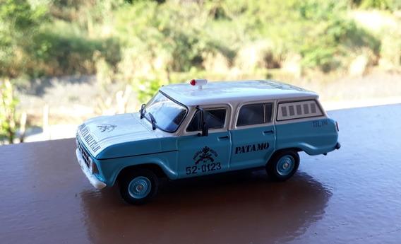 Miniatura Chevrolet Veraneio Patamo Polícia Rio De Janeiro B