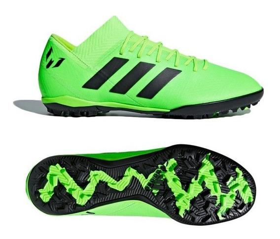 Tenis adidas Nemeziz Tango 18.3 Verde Aq0612 Look Trendy