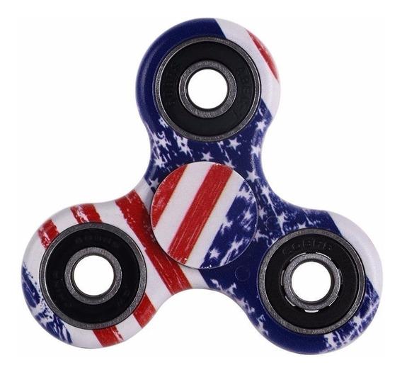 Hand Spinner Usa - 4 Rolamentos - Frete Em R$ 9,90