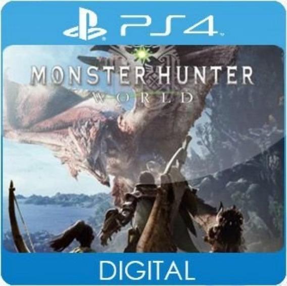 Monster Hunter World / Ps4 / 2 / Envio Hoje