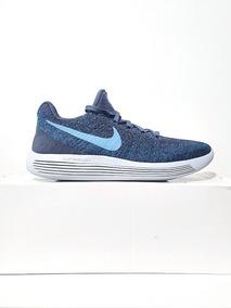Tênis Nike Lunarepic 2 Flyknit Corrida Azul Petróleo N. 39