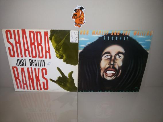 Lp Vinil Bob Marley E Shabba - Lote