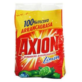Kit De 5 Axion Jabon Para Trastes En Polvo 720g