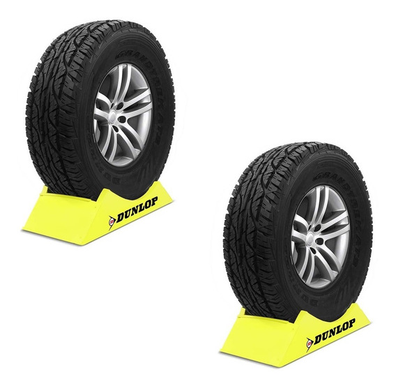 Kit 2 Pneu Aro 16 Dunlop Grandtrek At3 265/75r16 112s