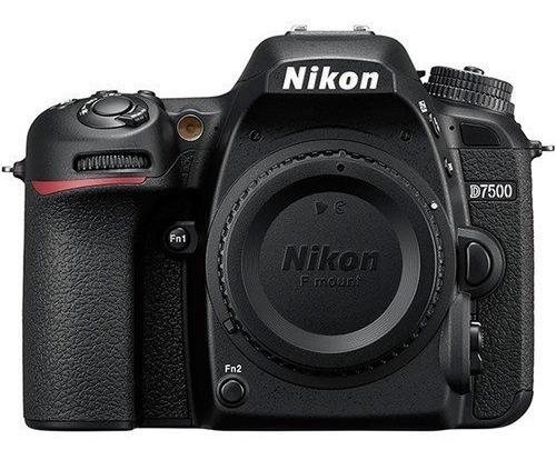 Câmera Nikon D7500 Dslr C/ Lente 18-55mm 20.9 Mp 12x S/juros