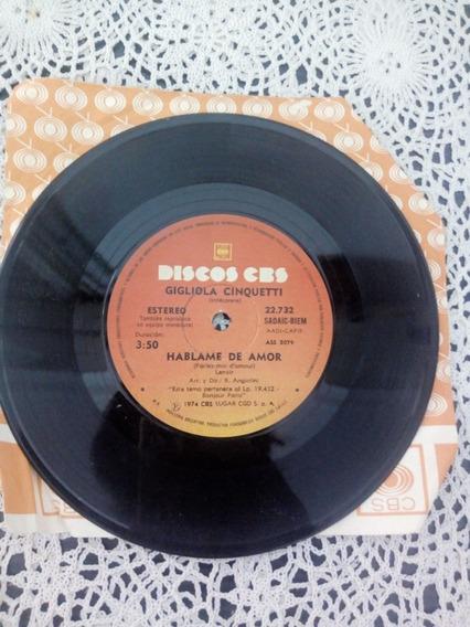Gigliola Cinquetti Simple Disc (disco De Vinilo)