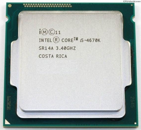 Processador Intel® Core I5-4670k Destravado De 4 Geração Oem + Nfe