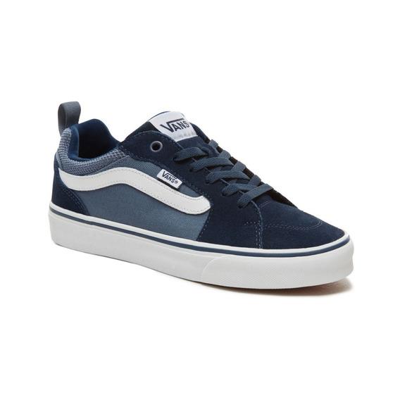 zapatillas vans mujer azules