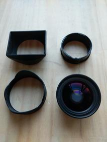 Lente Conversora 21mm E Adaptadores Ricoh Gh-3 E Gw-3