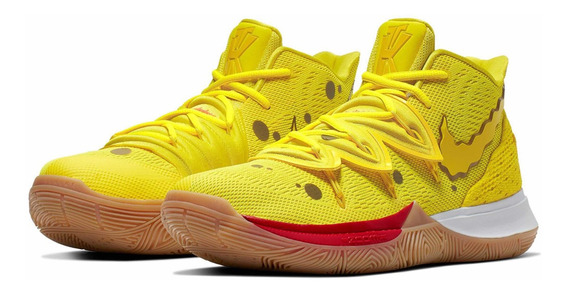 Tênis Nike Kyrie Irving 5 Spongbob Bob Esponja Tamanho 42
