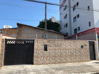Casa Com 2 Dormitórios À Venda, Centro - São Vicente/sp - Ca0008