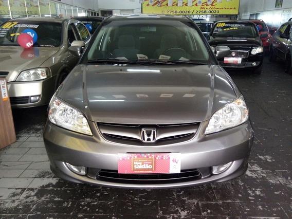Honda Civic 1.7 Lx 4p 2006 Completo