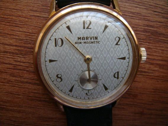 Reloj Marvin Cuerda Suizo Original.