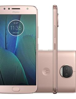 Smartphone Motorola Moto G5s Plus, 32gb, Dual, 4g, Ouro Rosê