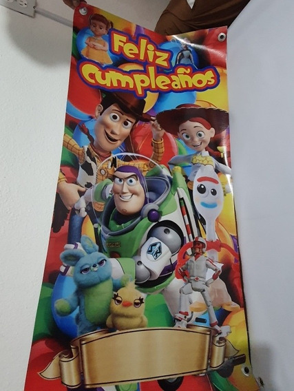 Toy Story Buzz Woody Vasos Platos Lona Fiesta Infantil