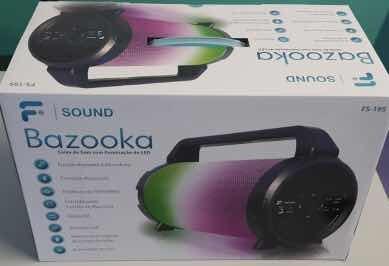 Bazooka Caixa De Som Com Karaokê E Microfone