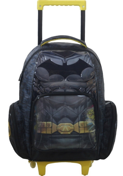 Mala Com Rodas 16 Batman The Batman 42x30x22 Ref 7220 Xeryus