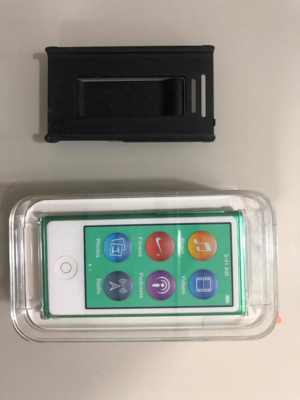 iPod Nano 7th Ger. 16gb Seminovo, Acompanha Pedômetro Nike+